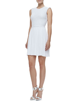 Bailey 44 Debbie Pleat-Skirt Dress