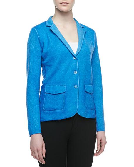 CC Hand-Dyed Knit Blazer
