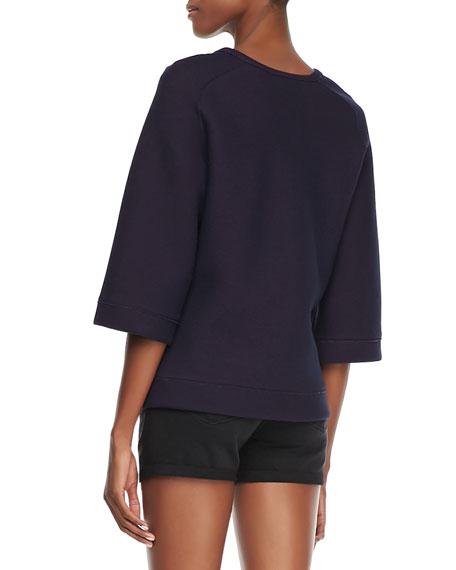 Ochoa Boxy Fleece Sweatshirt