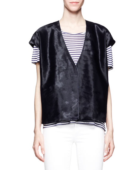 Eberhardt Calf-Hair Vest