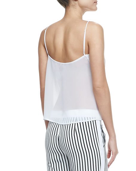 Lucy Sheer-Back Top