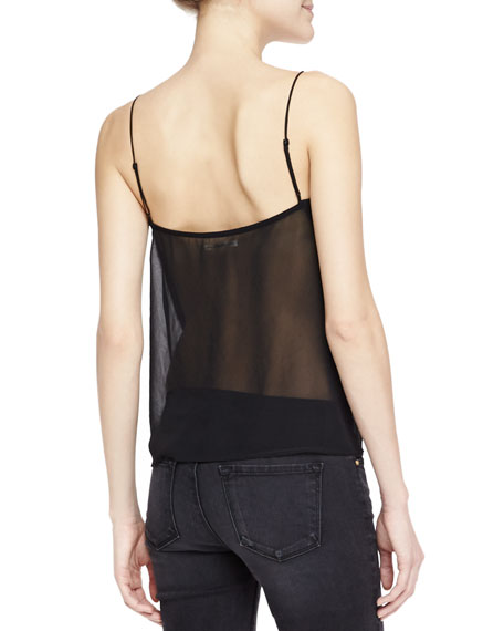 Lucy Sheer-Back Camisole