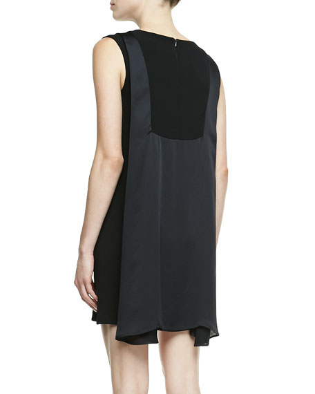 Clare Drape-Back Dress