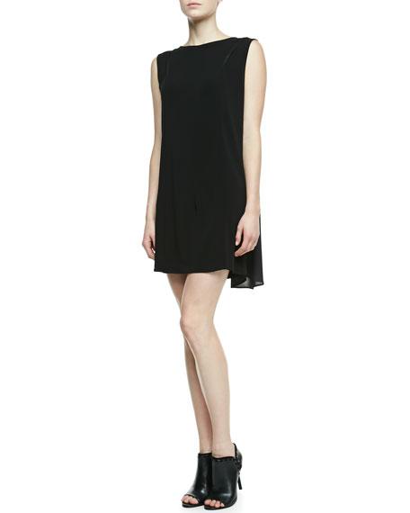 Clare Drape-Back Dress