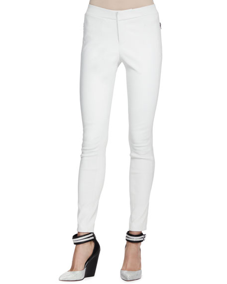Beryl Skinny Leather Pants
