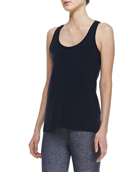 Draped Scoop-Neck Tank