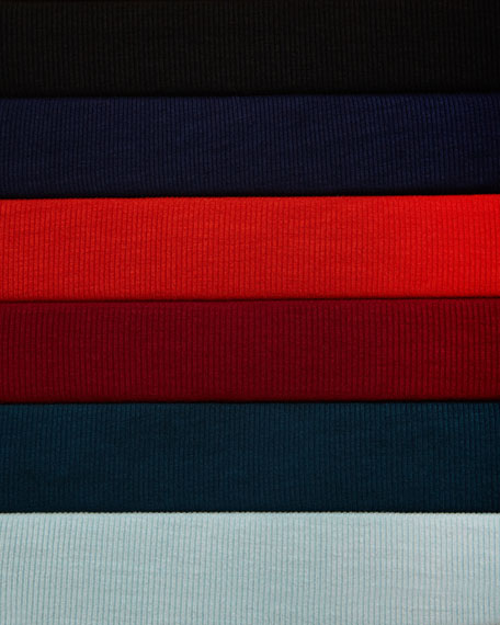 Dolman-Sleeve Jersey Tunic