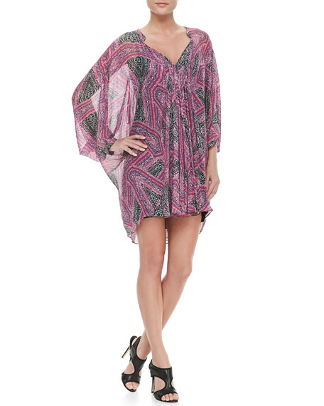 Fleurette Silk Chiffon Dress