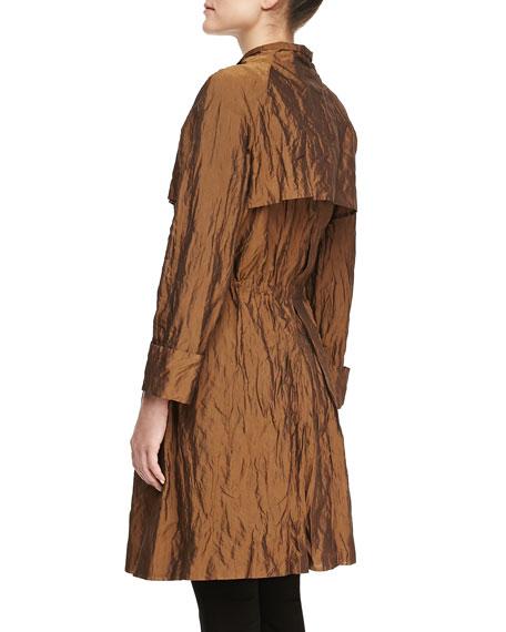 Long-Sleeve Cinched-Waist Jacket