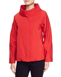 Lafayette 148 New York Vermillion Viera Topper