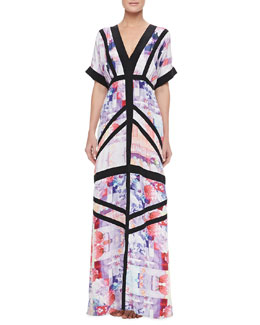 Suboo Floral Rise Maxi Coverup Dress