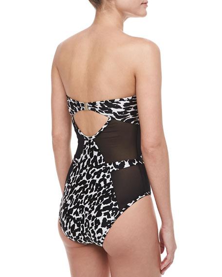 Lunar Leopard One-Piece Swimsuit