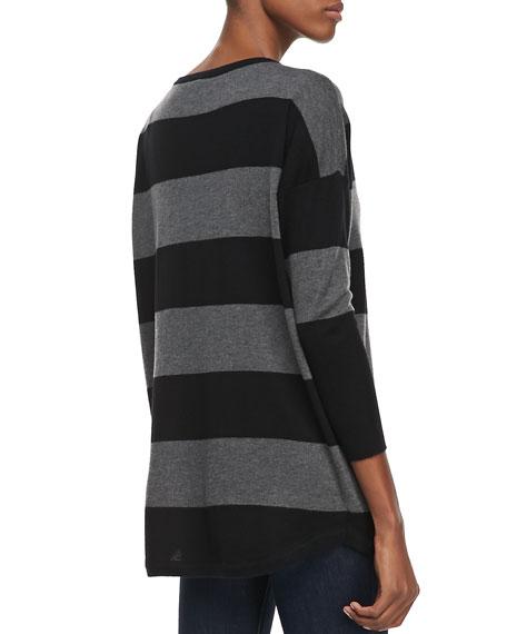 Chyanne Wide-Striped Sweater