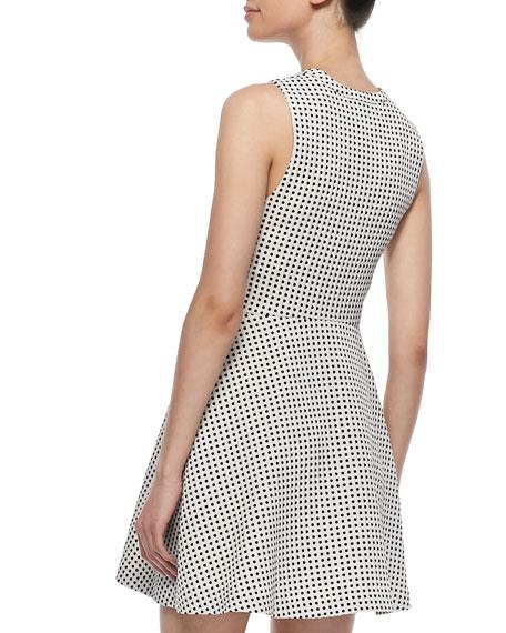 Julie Ann Polka-Dot Dress