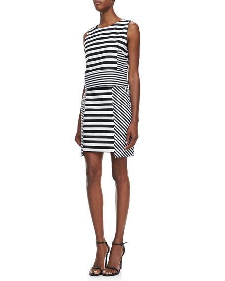 Scuba Stripe Skirt