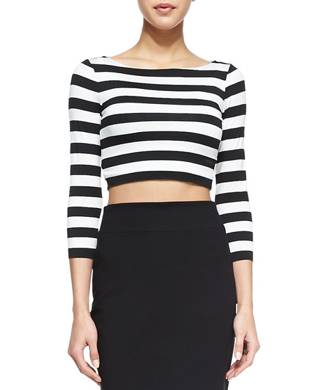 Bailey 44 Beach Party Striped Crop Top