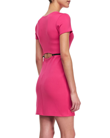 Playset Contrast-Zipper Dress