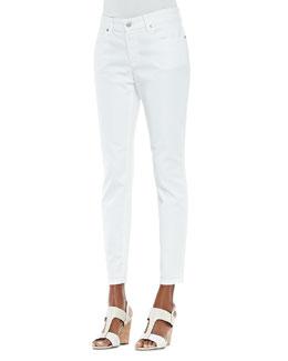 Eileen Fisher Organic Skinny Ankle Jeans, Women's