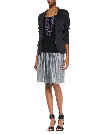 Organic Linen Shimmer Skirt