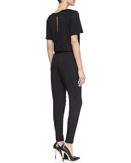 Manhattan Short-Sleeve Jumpsuit