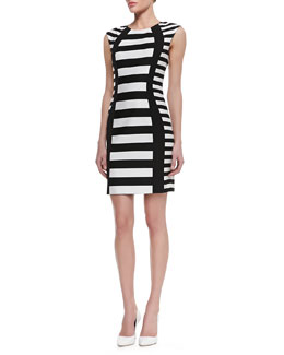 Trina Turk Phlox Striped Sheath Dress