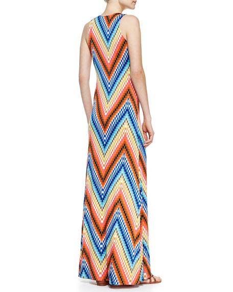 Verbana Sleeveless Maxi Dress