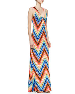 Trina Turk Verbana Sleeveless Maxi Dress