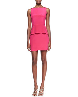 Rebecca Minkoff Stam Silk Back-Cutout Dress