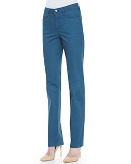 Christopher Blue Madison Straight-Leg Newport Twill Pants