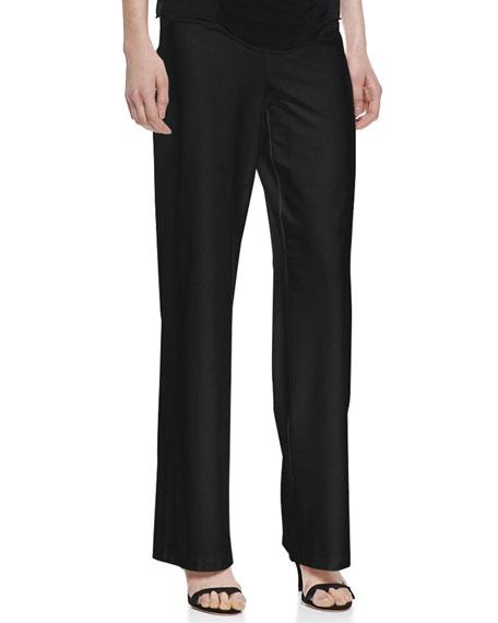 Modern Crepe Wide-Leg Pants