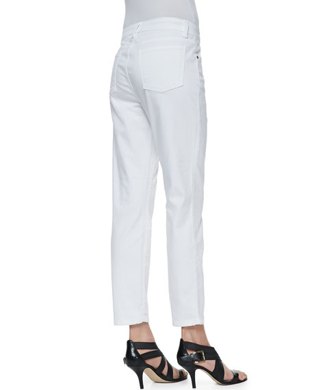 Organic Denim Skinny Ankle Jeans