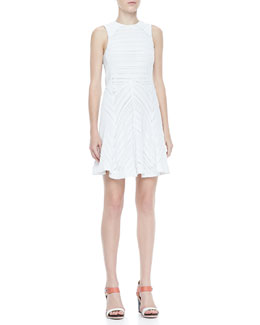 Rag & Bone Basha Sleeveless Burnout Dress