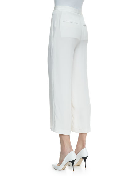 Phoebe Ankle-Cropped Pants