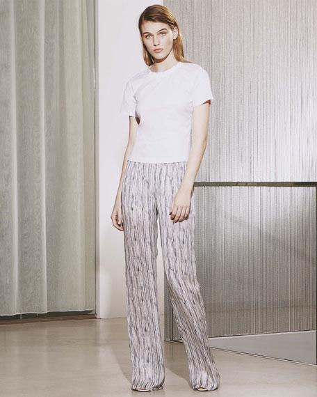 Prim Silk Multi-Print Pants