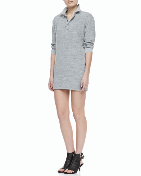 Colam Bracelet-Sleeve Dress