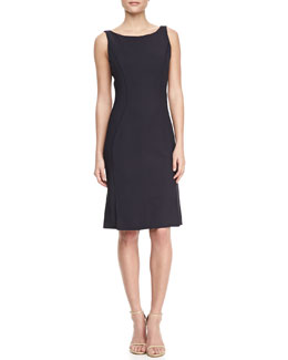 J. Mendel Sleeveless Jersey Sheath Dress
