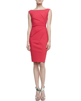 La Petite Robe di Chiara Boni Rachela Sleeveless Burst-Side Cocktail Dress