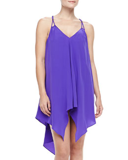 Lazul Braid-Strap Swim Coverup