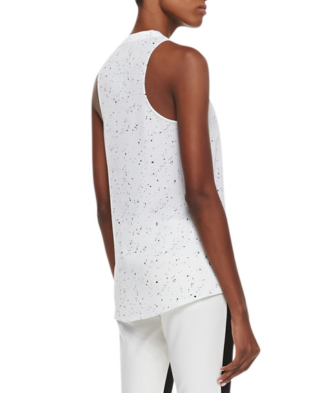 Splatter Dot Sleeveless Top