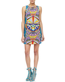 Mara Hoffman Sleeveless Printed Shift Dress