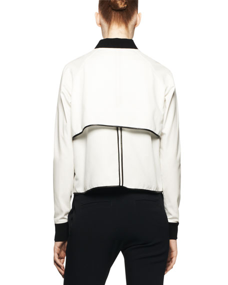 Hampton Two-Tone Snap Jacket