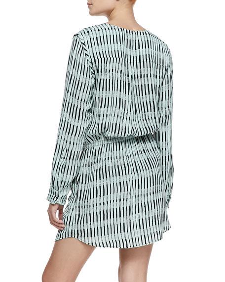 Simona Silk Shift Dress