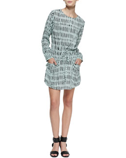 A.L.C. Simona Silk Shift Dress