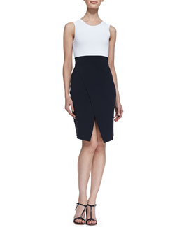 A.L.C. Savile Sleeveless Colorblock Dress