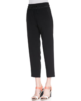 Rag & Bone Drawstring Crepe Easy Pants
