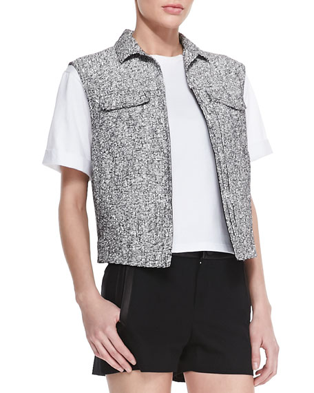 Trucker Tweed Four-Pocket Vest