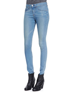 rag & bone/JEAN The High-Rise Skinny Jeans, Cavalry