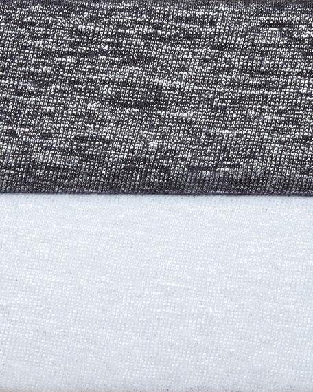 Shimmer Soft Asymmetric Top