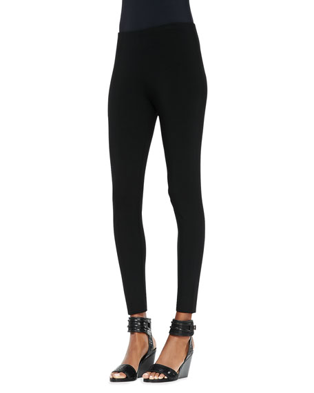 Viscose Jersey Ankle Leggings, Petite