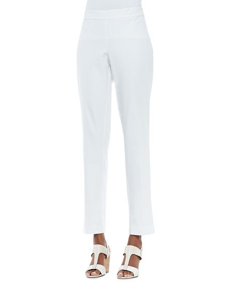 Organic Stretch Slim Twill Trousers